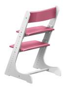 Растущий стул Конёк Горбунёк Бело-розовый
