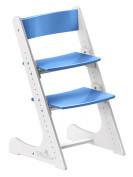 Растущий стул Конёк Горбунёк Бело-синий