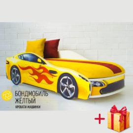 Бетамобиль желтый