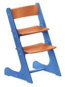 Растущий стул Конёк Горбунёк Сине-оранжевый