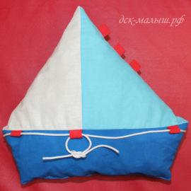 подушечка кораблик
