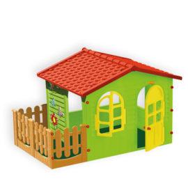 Домик игровой с забором большой