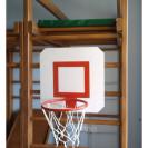 Баскетбольщий щит с кольцом