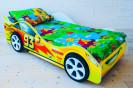 тачка желтая + пластиковые колеса