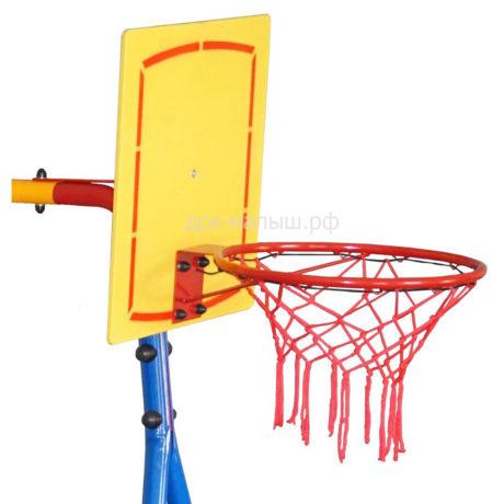 Баскетбольный щит с кольцом, уличный (Юный атлет)