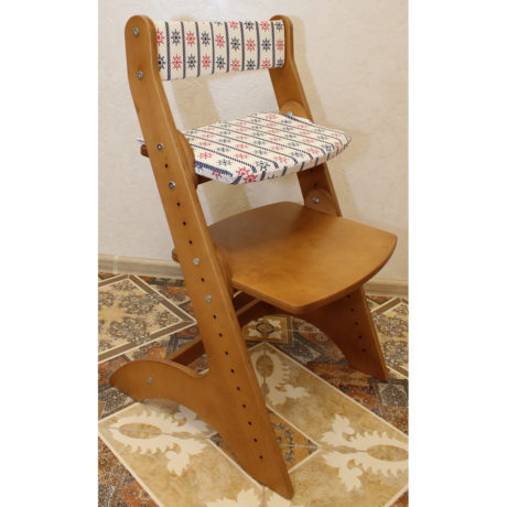 Сидушка и спинка для растущего стула