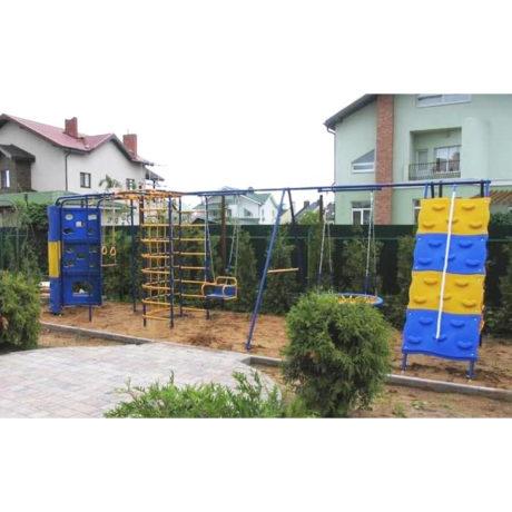 Радуга ПЛЮС с 2 качелями и модулем Башня