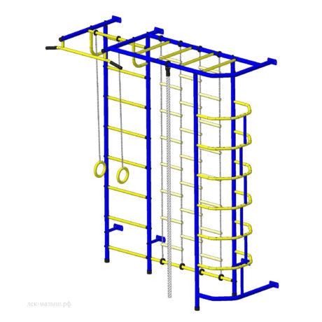 ДСК Пионер С5 с секцией комбинированная лестница