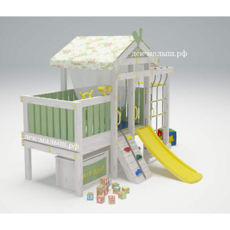 Игровой комплекс - кровать Савушка Baby - 3