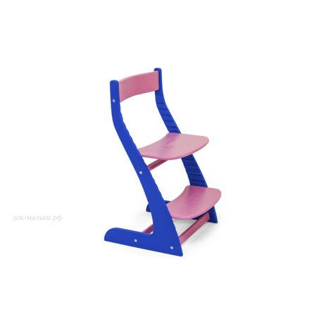 Растущий стул УСУРА синий-лаванда