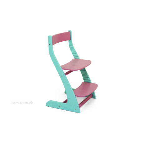 Растущий стул УСУРА мятный- лаванда