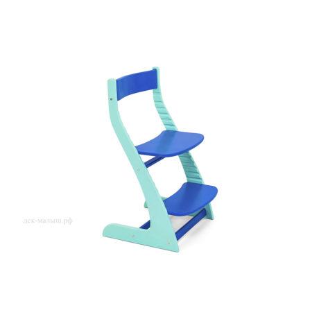 Растущий стул УСУРА мятный-синий