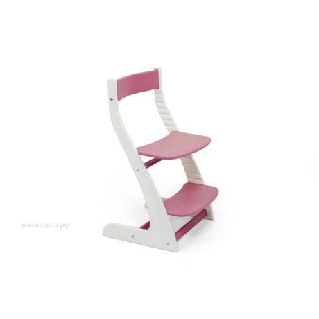 Растущий стул УСУРА белый-лаванда