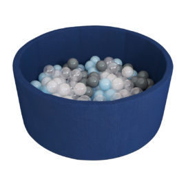 Сухой бассейн Синий + шары