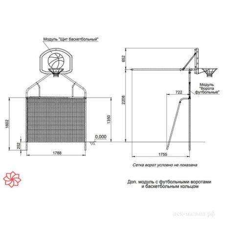 Дополнительный модуль Ворота