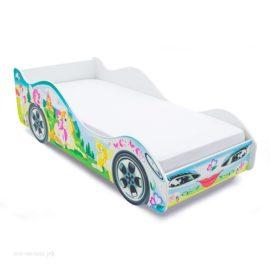 Кровать машинка Принцесса