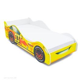 Кровать-машинка Тачка желтая