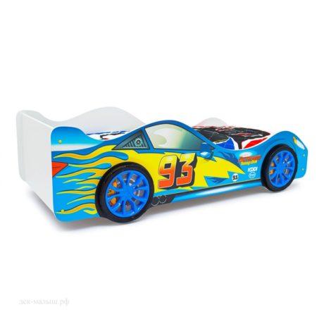 Кровать-машинка Тачка синяя