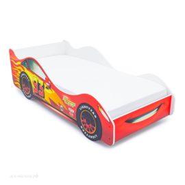 Кровать-машинка Тачка красная
