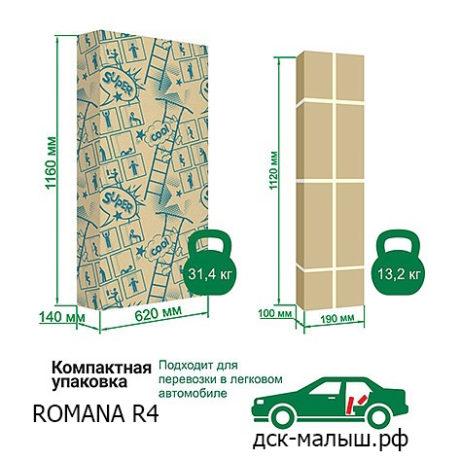 ДСК ROMANA R4