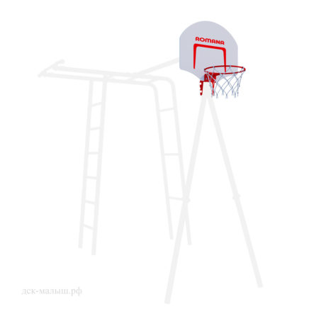 Баскетбольный щит+кольцо, улица